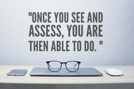 once you see and assess you are then able to do. Gina Bellomo Blog Productive Post